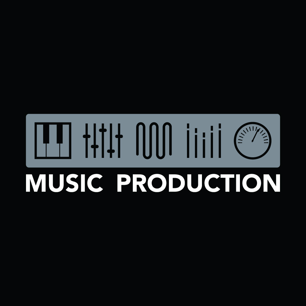music production logo